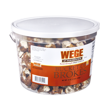 Wege Of Hanover Bucket Of Brokes Pretzels