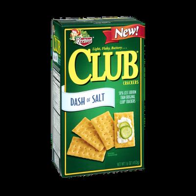 Keebler Dash of Salt Club Crackers