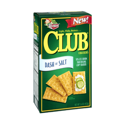 Keebler Dash of Salt Club Crackers