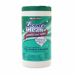 Good & Clean Disinfectant Wipes