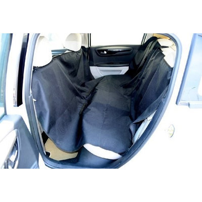 Merske Black Adjustable Pet Car Seat Cover (55 x 75)