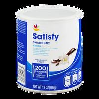 Ahold Satisfy Shake Mix Vanilla