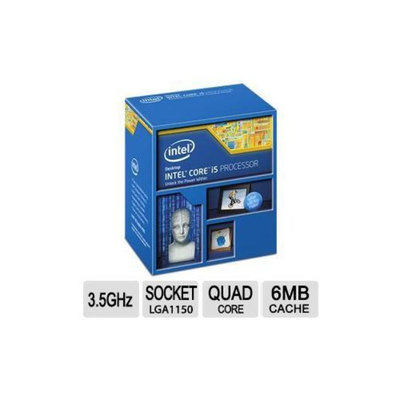 Intel Core i5-4690K Processor - Quad Core, 3.5GHz (6MB Cache, up to 3.90 GHz), 2 Memory Channels, 16 Max PCI Express Lan