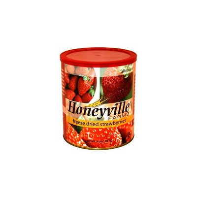 Honeyville Farms Freeze Dried Strawberries - 6 Ounce Can