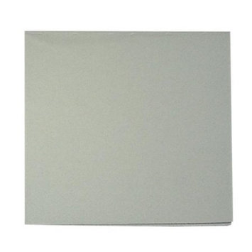 King Zak Ind Lillian Tablesettings 21835 Silver Solid Beverage Napkin 3 Ply - 960 Per Case