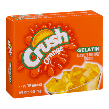 Crush Gelatin Mix Orange