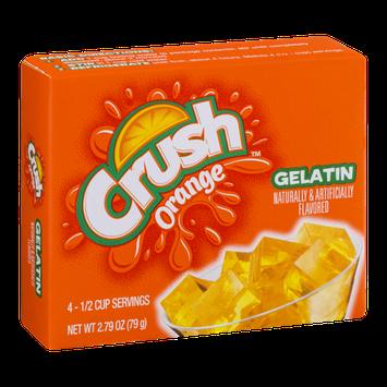 Crush Gelatin Mix Orange