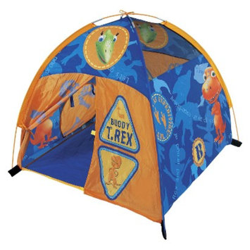 Pacific Playtents Pacific Play Dinosaur Bones Dome Tent - Orange/Blue