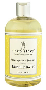 Deep Steep Bubble Bath Lemongrass Jasmine 17 fl oz