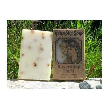 Vermont Soap Organics - Rosemary Herb 3.5 Oz Bar Soap