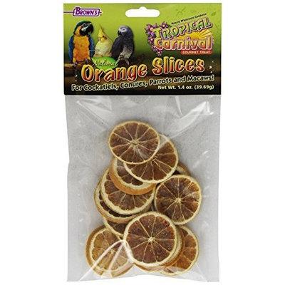 F.M.BROWN'S F.M. Brown's Tropical Carnival Natural Orange Slices, Net Wt .75 oz
