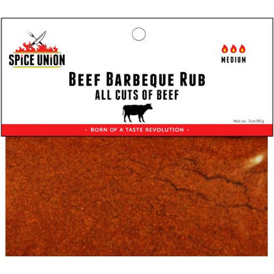 Spice Union - 3-oz. Beef Barbeque Rub - Multi