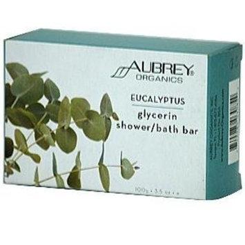 Aubrey Organics Eucalyptus Glycerin Shower Bath Bar