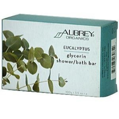 Eucalyptus Glycerin Shower/Bath Bar - 3.5 oz,(Aubrey Organics)