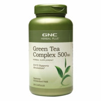 Gnc Herbal Plus Formula GNC Herbal Plus Green Tea Complex 500 MG