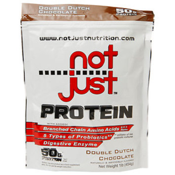 Not Just Protein, Double Dutch Chocolate, 1 lb