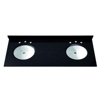 Avanity SUT61BK 61-Inch Black Granite Stone Top
