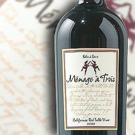 Menage a Trois California Red Wine