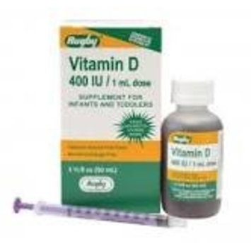 RUGBY® D3 400 IU/1ML DROPS® VITAMIN D SUPPLEMENT FOR INFANTS AND TODDLERS 50ML