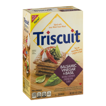Nabisco Triscuit Crackers Balsamic Vinegar & Basil