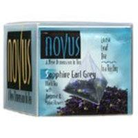 Novus Tea Sapphire Earl Grey Tea, 12 Tea Pouches