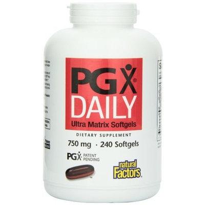 Natural Factors PGX Daily Ultra Matrix Softgels 750 Mg, 240 Softgels