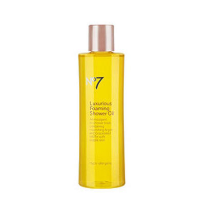 Boots No7 Luxurious Foaming Shower Oil, 6.8 fl oz