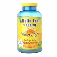 Nature's Life Alfalfa Leaf 1000mg