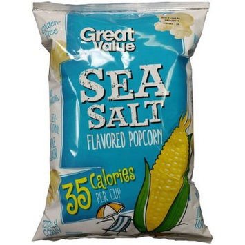 Great Value Sea Salt Flavored Popcorn, 5.5 oz