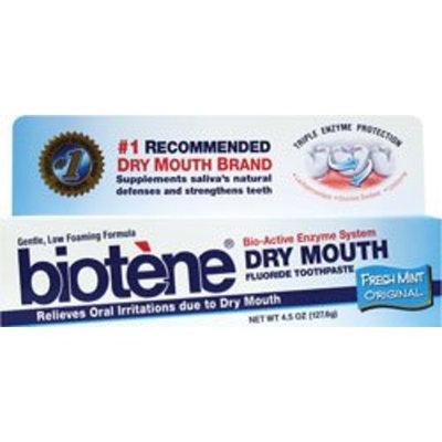 Biotene dry mouth wash fresh mint original 4.50 Ounces
