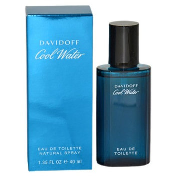 Men's Cool Water by Zino Davidoff Eau de Toilette Spray - 1.35 oz