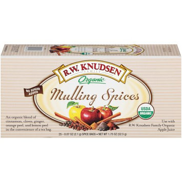 R.W. Knudsen Organic Mulling Spices, 25 CT (Pack of 6)