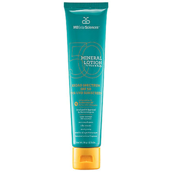 MDSolarSciences Mineral Lotion for Face & Body SPF 50, 2.75 oz