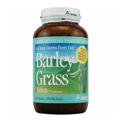 Pines International Barley Grass 500 mg 500 Tablets