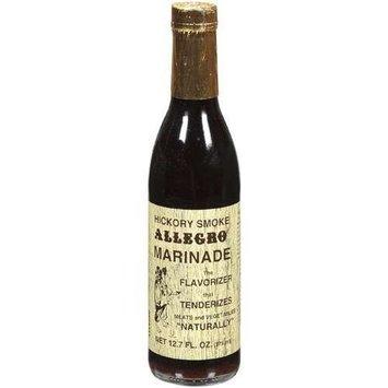 Allegro Marinade, Hickory Smk, 12.70-Ounce Glass Bottle (Pack of 6)