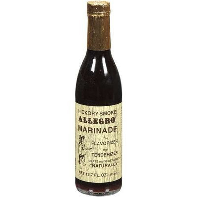 Allegro Marinade, Hickory Smk, 12.70-Ounce Glass Bottle (Pack of 6)