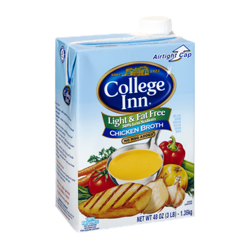 College Inn Light & Fat Free Chicken Broth