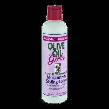 Olive Oil Girls Organic and Root Stimulator Moisturizing Styling Lotion