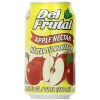 Del Frutal Apple Nectar, 11.16-Ounce (Pack of 24)