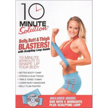 Anchor Bay Entertainment 10 Minute Solution: Belly, Butt & Thigh Blasters!