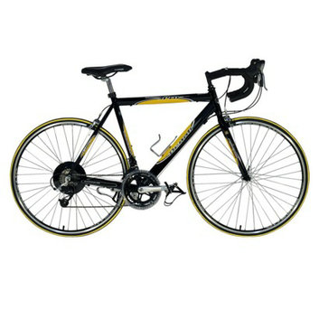 "Kent International Kent Men's Denali Pro 28 Road Bike - Black/Yellow"""