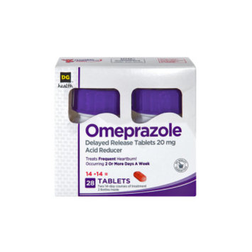 DG Home DG Health Omeprazole Acid Reducer - 28 count
