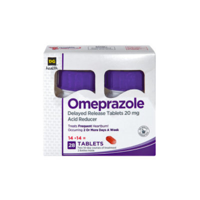 DG Home DG Health Omeprazole Acid Reducer - 28 count