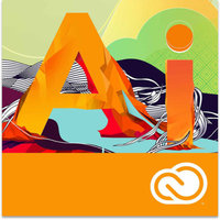 Adobe Illustrator Creative Cloud IND 12-Month Membership (PC) (Digital Code)