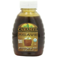 Funfresh Foods Organic Caramel Agave Nectar, Blue, 8 Ounce