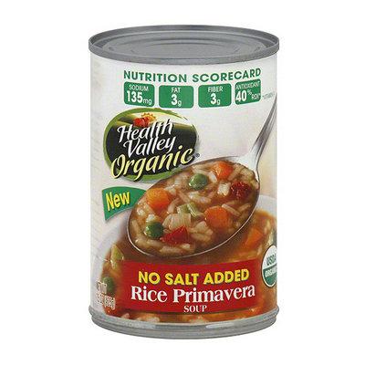 Health Valley Organic Rice Primavera Soup