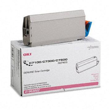 Okidata Corporation 41963002 Toner Cartridge, Magenta - OKIDATA
