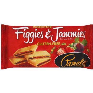 Pamela's Figgies & Jammies Strawberry & Fig Extra Large Cookies, 9 oz, (Pack of 6)