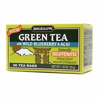 Bigelow Decaffeinated Green Tea with Wild Blueberry & Acai