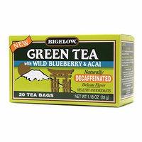 Bigelow Decaffeinated Green Tea with Wild Blueberry & Acai